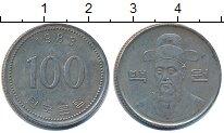 Изображение Дешевые монеты Южная Корея 100 вон 1983 Медно-никель XF-