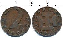Изображение Дешевые монеты Австрия 2 гроша 1935 Медь XF-