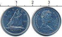 Изображение Дешевые монеты Канада 10 центов 1984 Медно-никель XF