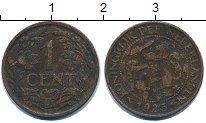 Изображение Барахолка Нидерланды 1 цент 1925 Медь VF
