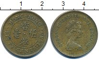 Изображение Дешевые монеты Гонконг 50 центов 1980 Медь XF-
