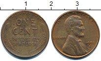 Изображение Барахолка США 1 цент 1951 Медь VF