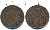 Изображение Дешевые монеты Нидерланды 1 цент 1925 Медь VF