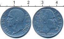 Изображение Дешевые монеты Италия 20 чентезимо 1940 Сталь XF-