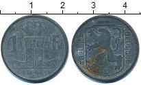 Изображение Дешевые монеты Бельгия 1 франк 1942 Цинк VF+