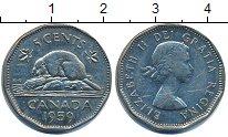 Изображение Барахолка Канада 5 центов 1959 Медно-никель VF