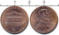 Изображение Барахолка США 1 цент 2014 Медь XF