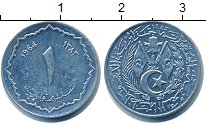 Изображение Барахолка Алжир 1 сантим 1964 Алюминий XF