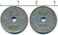 Изображение Дешевые монеты Норвегия 10 эре 1926 Медно-никель XF-