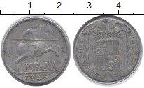Изображение Барахолка Испания 10 сентим 1945 Алюминий VF