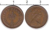 Изображение Барахолка Великобритания 1/2 пенни 1977 Бронза VF
