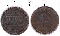 Изображение Барахолка США 1 цент 1988 Бронза VF-