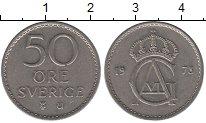 Изображение Дешевые монеты Швеция 50 эре 1973 Медно-никель XF-