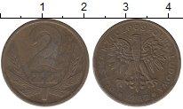 Изображение Дешевые монеты Польша 2 злотых 1982 Бронза VF-