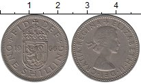 Изображение Дешевые монеты Великобритания 1 шиллинг 1966 Медно-никель VF