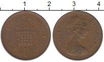 Изображение Барахолка Великобритания 1 пенни 1973 Медь XF