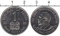 Изображение Дешевые монеты Кения 1 шиллинг 2005 Медно-никель XF