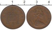 Изображение Барахолка Великобритания 1 пенни 1973 Медь XF-