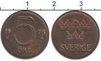 Изображение Барахолка Швеция 5 эре 1973 Бронза VF
