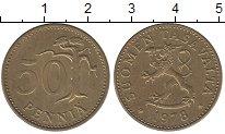 Изображение Дешевые монеты Финляндия 50 пенни 1978 Латунь XF