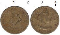 Изображение Барахолка Карибы 5 центов 1955 Латунь VF