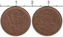 Изображение Дешевые монеты Барбадос 1 цент 2008 Медь VF