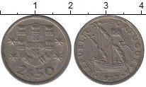 Изображение Дешевые монеты Португалия 2,5 эскудо 1977 Медно-никель VF