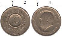 Изображение Барахолка Норвегия 10 крон 1986 Медно-никель XF-