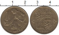 Изображение Дешевые монеты Чехия 1 крона 1991 Медно-никель XF