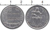 Изображение Барахолка Полинезия 1 франк 1982 Медно-никель VF+