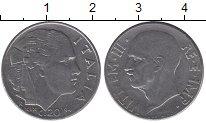 Изображение Дешевые монеты Италия 20 сентесим 1941 Медно-никель XF-