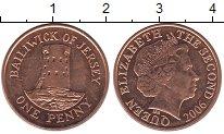 Изображение Дешевые монеты Остров Джерси 1 пенни 2006 Медь XF