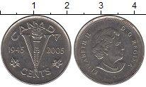 Изображение Барахолка Канада 5 центов 2005 Медно-никель XF