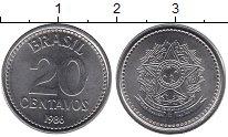 Изображение Дешевые монеты Бразилия 20 сентаво 1986 Сталь XF