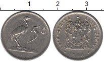 Изображение Дешевые монеты ЮАР 5 центов 1986 Медно-никель VF+