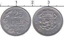 Изображение Дешевые монеты Люксембург 25 сентим 1957 Алюминий XF