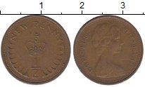 Изображение Барахолка Великобритания 1/2 пенни 1971 Медь VF+