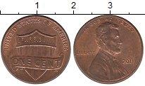 Изображение Барахолка США 1 цент 2011 Медь XF-