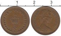 Изображение Барахолка Великобритания 1/2 пенни 1977 Медь XF