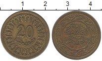 Изображение Дешевые монеты Тунис 20 миллим 1983 Латунь VF