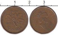 Изображение Барахолка Канада 1 цент 1991