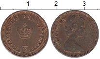 Изображение Барахолка Великобритания 1/2 пенни 1976 Медь VF