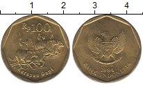 Изображение Барахолка Индонезия 100 рупий 1994 Латунь-сталь XF