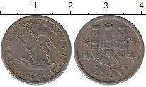 Изображение Дешевые монеты Португалия 250 эскудо 1965 Медно-никель XF-