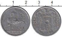 Изображение Барахолка Испания 10 сентим 1940 Алюминий VF