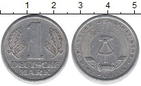 Изображение Барахолка ГДР 1 марка 1956 Алюминий XF