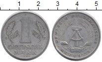 Изображение Дешевые монеты ГДР 1 марка 1962 Алюминий VF+