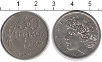 Изображение Барахолка Бразилия 50 сентаво 1970 Медно-никель XF