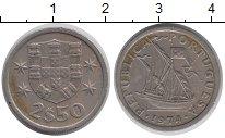 Изображение Дешевые монеты Португалия 250 эскудо 1974 Медно-никель VF+