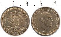 Изображение Дешевые монеты Испания 1 песо 1966 Латунь XF